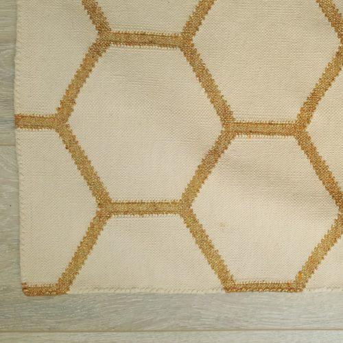 cotton dhurrie, dhurrie rug, kilim, handmade rug, flatweave rug, India, Eco & Fair, sustainable, sparkle