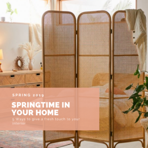 Springtime in your home