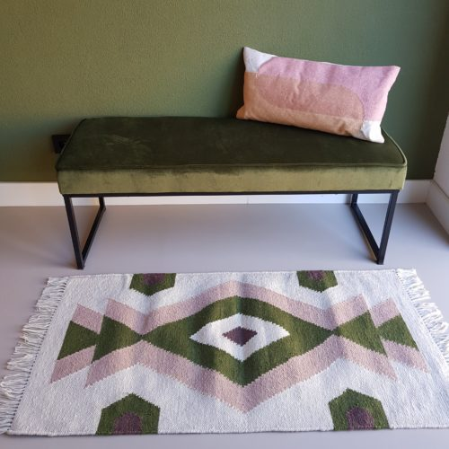 Indoor Outdoor rug, Recycled Plastic Bottles rug, Bonam Home, Handmade in India, Sustainable living